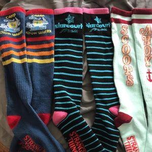 Stranger Things socks 3pack! Like new!